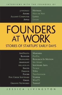 Founders at Work: Stories of Startups' Early Days 9781590597149