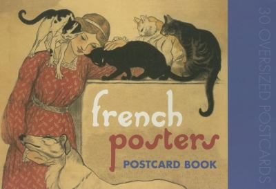 French Posters Postcard Book 9781595831408