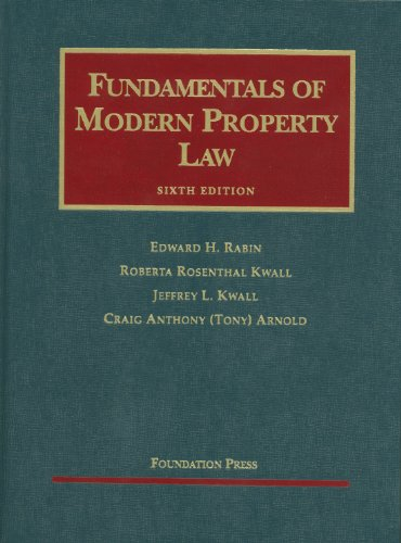 Fundamentals of Modern Property Law 9781599416410