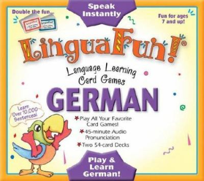 German: Language Learning Card Games [With 45-Minute Audio Pronunciation Cassette] 9781591254614