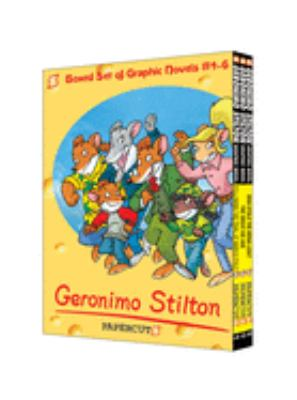 Geronimo Stilton Boxed Set of Graphic Novels #4-6 9781597072717