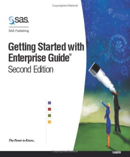 Getting Started with SAS Enterprise Guide 9781590471067