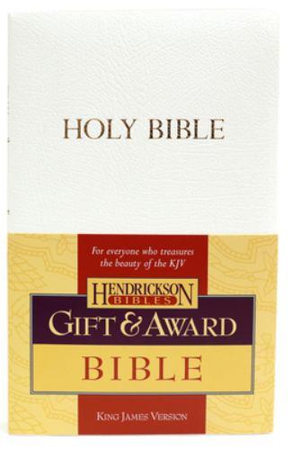 Gift & Award Bible-KJV 9781598560268