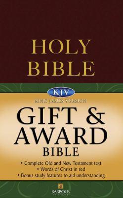 Gift and Award Bible-KJV 9781597895330