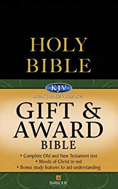 Gift and Award Bible-KJV 9781597895156