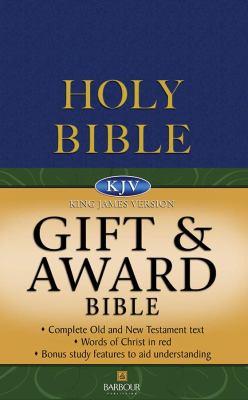 Gift and Award Bible-KJV 9781597893022