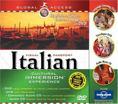 Global Access Visual Passport to Italian: Cultural Immersion Experience [With Phrase Book and CD] 9781591257073