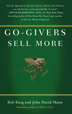 Go-Givers Sell More 9781591843085