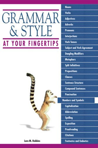 Grammar & Style at Your Fingertips
