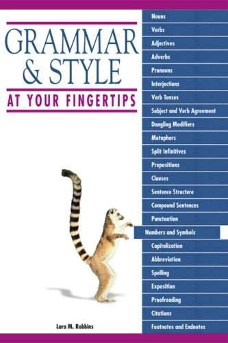 Grammar & Style at Your Fingertips 9781592576579