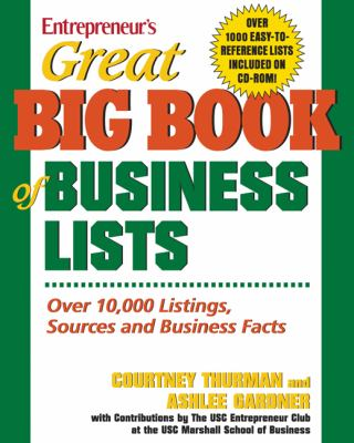 Great Big Book of Business Lists: All the Things You Need to Know to Run a Small Business [With CD-ROM] 9781599180076