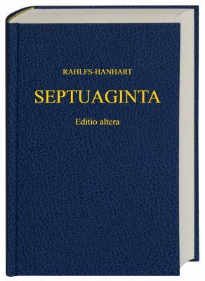 Greek Old Testament-FL-Septuaginta 9781598561807
