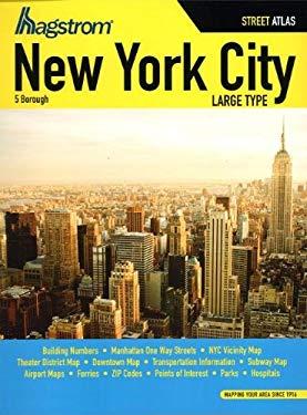 Hagstrom New York City 5 Borough Street Atlas
