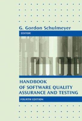 Handbook of Software Quality Assurance 9781596931862