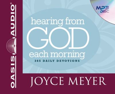 Hearing from God Each Morning: 365 Daily Devotions 9781598597042