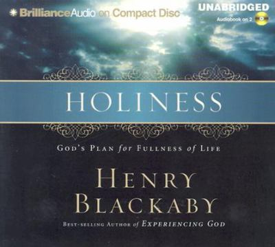 Holiness Of Life. Holiness