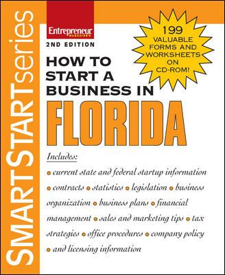 How to Start a Business in Florida [With CDROM] 9781599180755