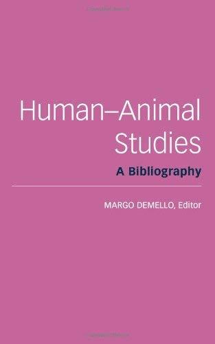 Human-Animal Studies: A Bibliography 9781590561805