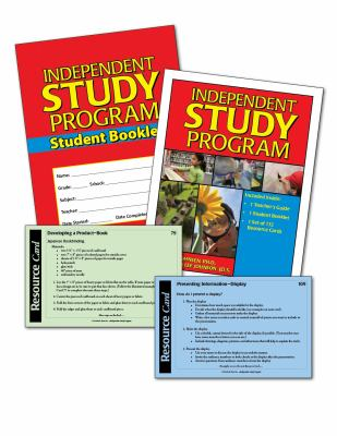 Independent Study Program Kit [With Resource Cards and Student Booklet] 9781593632304