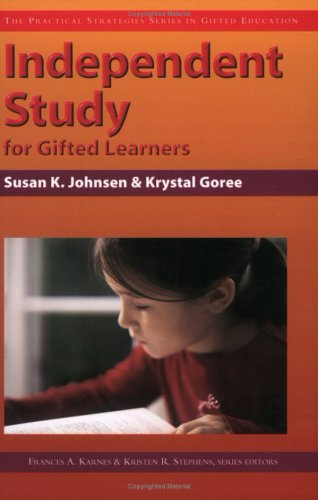 Independent Study for Gifted Learners 9781593630164