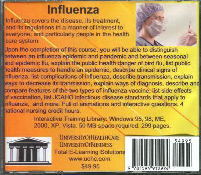 Influenza 9781594912924