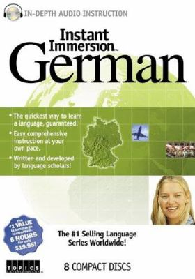 Instant Immersion German 9781591507581