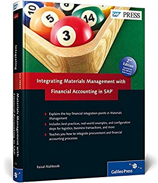 Integrating Materials Management with Financial Accounting in SAP 9781592294268