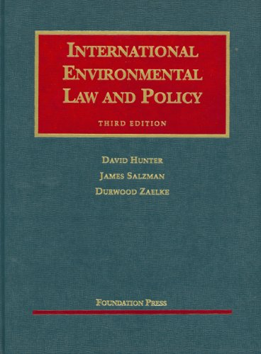 International Environmental Law and Policy 9781599410418