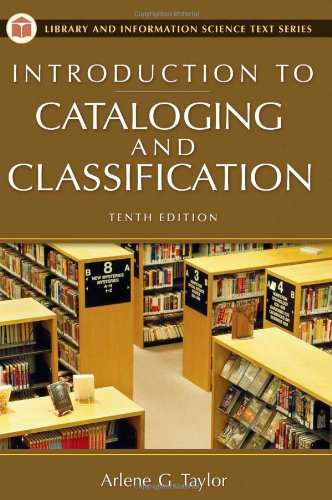 Introduction to Cataloging and Classification 9781591582359