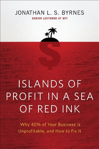 Islands of Profit in a Sea of Red Ink: Why 40 Percent of Your Business Is Unprofitable and How to Fix It 9781591843498