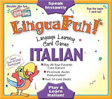 Italian: Language Learning Card Games [With 45 Minute Audio Pronunciation Cassette] 9781591254621
