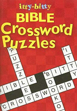 Itty-Bitty Bible Crossword Puzzles 9781593171513