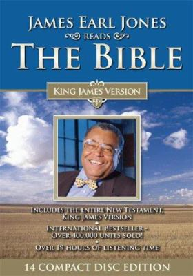 James Earl Jones Reads the Bible New Testament-KJV 9781591509745