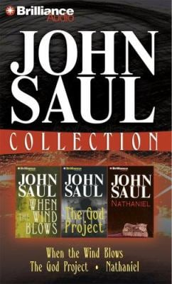 John Saul Collection 2: When the Wind Blows, the God Project, and Nathaniel 9781597373333