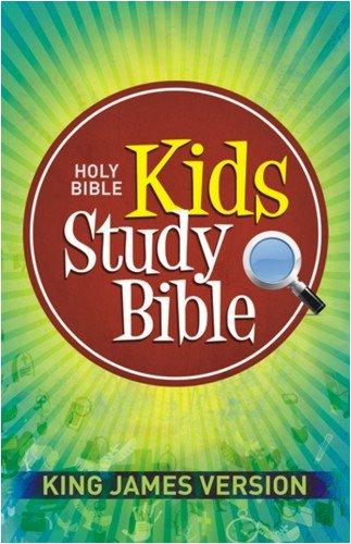 Kids Study Bible-KJV 9781598563511