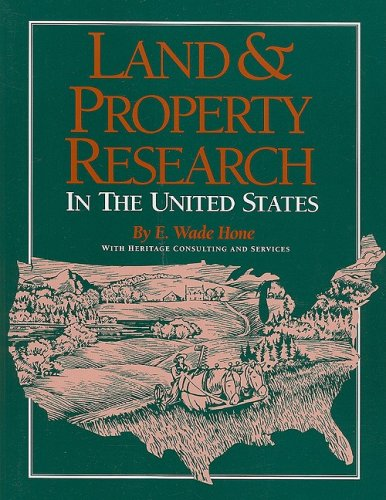 Land & Property Research in the United States 9781593313258