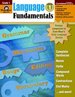 Language Fundamentals, Grade 1 9781596731615