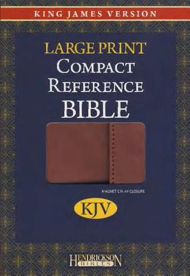 Large Print Compact Reference Bible-KJV-Magnetic Flap 9781598567700