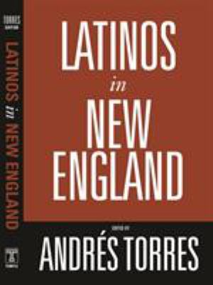 Latinos in New England 9781592134175