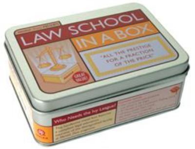 Law School in a Box: All the Prestige for a Fraction of the Price [With 96 Page TextbookWith Trading CardsWith Diploma and Exam TriviaWith Flashcards] 9781594741463