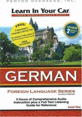 Learn in Your Car German, Level One [With Guidebook] 9781591257226