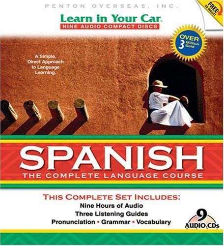 Learn in Your Car Spanish: The Complete Language Course [With Guidebook and CD Carrying Case and DVD] 9781591257332