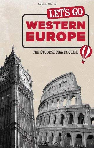 Let's Go Western Europe: The Student Travel Guide 9781598803143