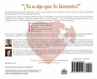 Los Cinco Lenguajes de La Disculpa 9781598591507