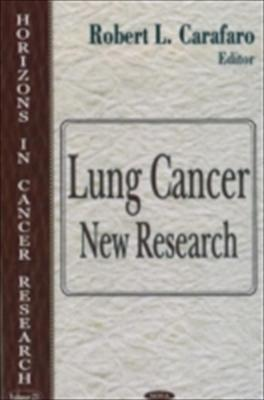 Lung Cancer: New Research 9781594546723