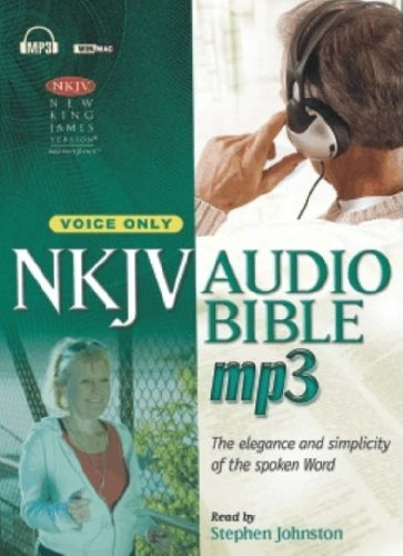 MP3 Bible-NKJV-Voice Only [With DVD]