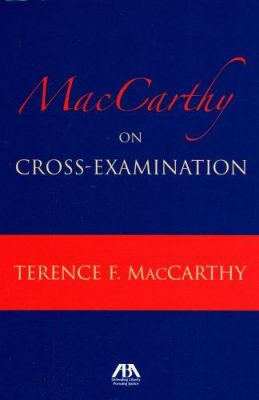 MacCarthy on Cross-Examination 9781590318867