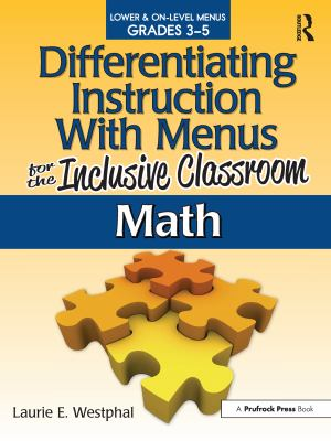 Math: Lower & On-Level Menus Grades 3-5