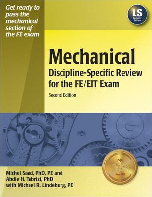 Mechanical Discipline-Specific Review for the FE/EIT Exam 9781591260653