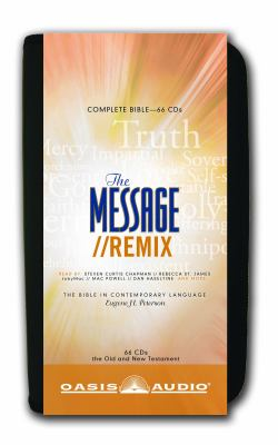 Message Remix Bible-MS 9781598594515